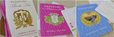 wedding invitations jamaica destination wedding passport invitations greece jamaica