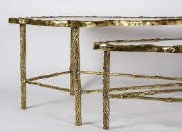Crystal Coffee Table by Pair Of Rock Crystal Coffee Tables For Sale At 1stdibs