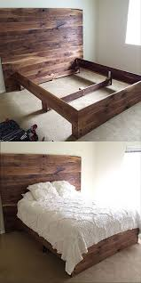 Bedroom Adorable Build Your Own by Diy Reclaimed Wood Platform Bed Wood Platform Bed Platform Beds