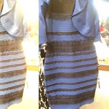gold and white or black and blue dress real color color dress