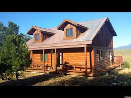 Two Story Log Homes by Countywide Realty