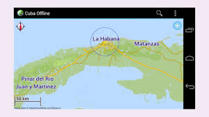Map Cuba Offline Map Cuba Apk Review Youtube