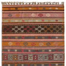 stripe dhurrie rug robert redford u0027s sundance catalog