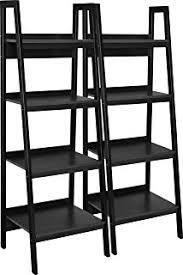 5 Tier Bookshelf Ladder Amazon Com Best Choice Products Furniture Set Pair Of 4 Shelf
