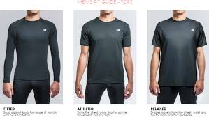 men u0027s apparel sizing guide u2013 new balance faqs