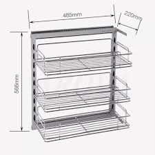 kitchen cabinet organizers pull out shelves pots and pans storage ideas cookware organizer pull out shelf