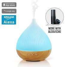 amazon com acemax smart aroma essential oil diffuser humidifer