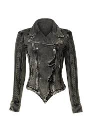 jacket moto cable knit moto jacket by free people for 35 rent the runway