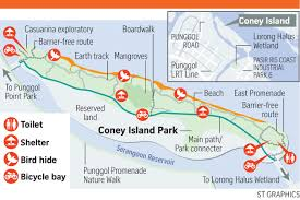 Mapping Running Routes by Coney Island Park The Newest Nature Running Destination Just