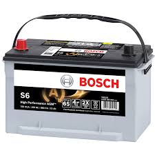battery car s6 agm car battery bosch auto parts