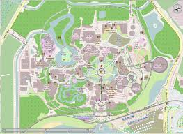 Walt Disney World Maps by File Walt Disney World Open Street Map Png Wikimedia Commons