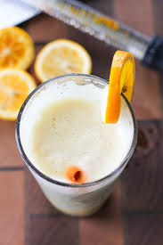 lemon and vanilla bean protein shake