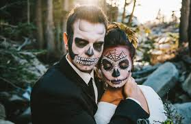 day of the dead wedding amazing day of the dead inspired wedding shoot mon cheri bridals