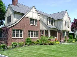 remodeled exterior of tudor style home remodeling additions
