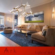 Italienische Wohnzimmer Modern Kreative Zweig Kunst Rolle Hill Agnes Pendelleuchte Lampe Moderne