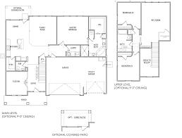 thompson floor plan salisbury homes
