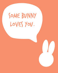 some easter bunny a free printable