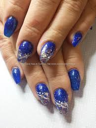 nail art tropicalartnailsart 47 beautiful blue nails art design