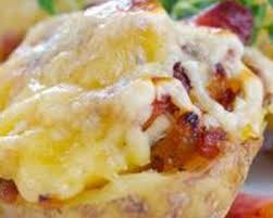 recette cuisine pomme de terre recette pommes de terre farcies aux lardons et au fromage