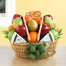fruit and cheese gift basket wine shopping mall