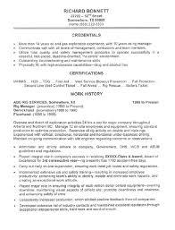 Horizontal Resume Oil Rig Chef Cover Letter