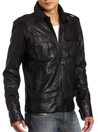 biker jacket men handmade custom new men shirt style collar chic leather jacket
