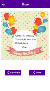 name on birthday card android apps on play