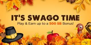get more free gift cards during november swago with spin win