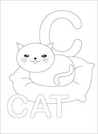 alphabet printable coloring pages 23445 bestofcoloring
