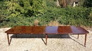 george iii period mahogany extending dining table with built in