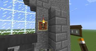 til anvil in item frame makes a cool torch holder minecraft