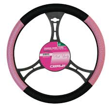 pink car interior pink lady car steering wheel cover protector vehicle styling