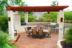 awesome outdoor kitchen designs hometutu com
