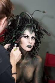 medusa costume i hair makeup