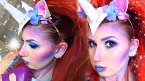 unicorn halloween magical unicorn makeup nyx halloween party youtube
