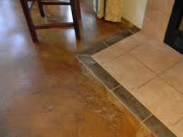 Laminate Flooring Concrete Slab Rip Up The Carpet And Stain Your Concrete