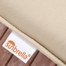 22 Inch Outdoor Chair Cushions Amazon Com Mozaic Company Sunbrella Indoor Outdoor 20 Inch