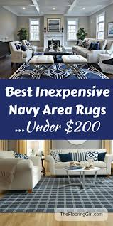 Inexpensive Area Rug Ideas 15 Best Navy Area Rugs Images On Pinterest Blue Area Rugs Blue