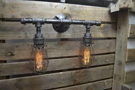 Industrial Bathroom Vanity Lighting Outstanding Industrial Bathroom Vanity Lighting Models New Lighting