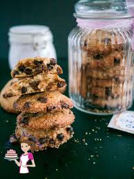 chocolate chip cookie in a jar christmas gift ideas veena azmanov