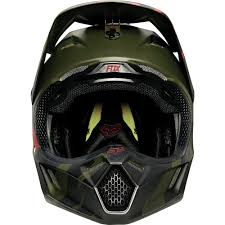 green motocross helmet fox racing 2015 limited edition v3 marz helmet green wide