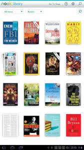 nook for android best ebook reader app for android tablets nook