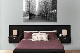 effortless diy bed frame with headboard and footboard rustic idolza