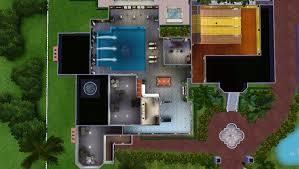 celebrity house floor plans mod the sims celebrity mansion