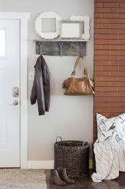 18 diy shabby chic home decorating ideas on a budget this coat rack is a great focal point for any home
