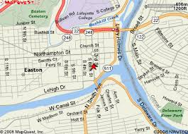 easton map city of easton pa map detailed map this map is informational