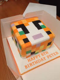 minecraft cake tutorial children u0027s birthday cakes
