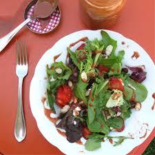 strawberry balsamic salad dressing urban strawberries