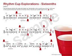 rhythm cup explorations 1 cup tapping rhythm program