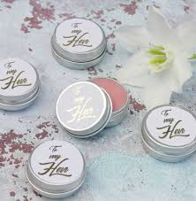 lip balm favors hen party prosecco lip balm favours in white and gold by hearth